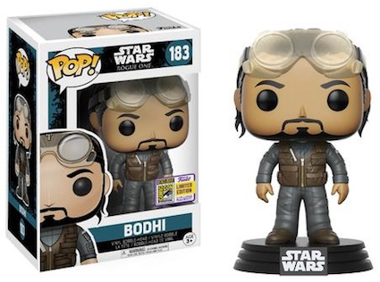 2017 Funko San Diego Comic Con Exclusives Pop Star Wars
