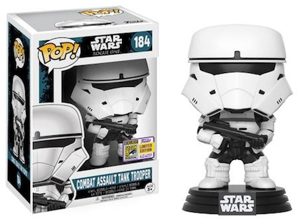 2017 Funko San Diego Comic-Con Exclusives Funko Pop Star Wars