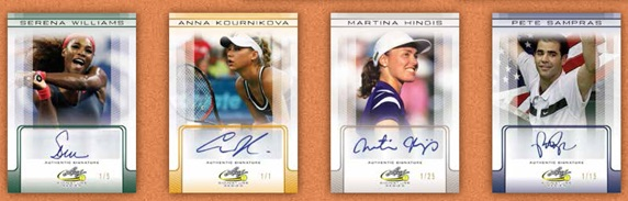 2017 Leaf Signature Series Tennis Cards 3