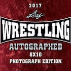 2017 Leaf Wrestling Autographed Photograph Edition