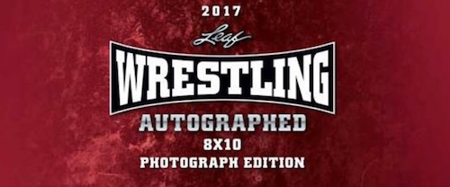 2017 Leaf Wrestling Autographed Photograph Edition 3