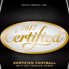 2017 Panini Certified Football Cards