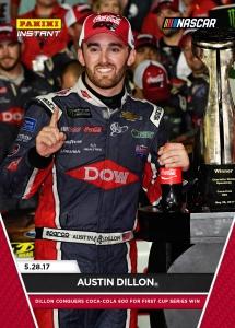 2017 Panini Instant NASCAR Racing Cards 15