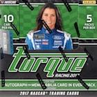 2017 Panini Torque NASCAR Racing Cards