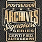 2017 Topps Archives Signature Series Postseason