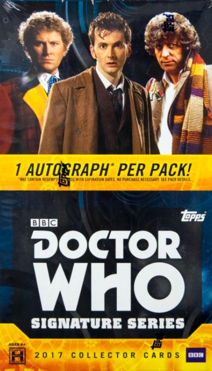 2017 Topps Doctor Who Signature Series