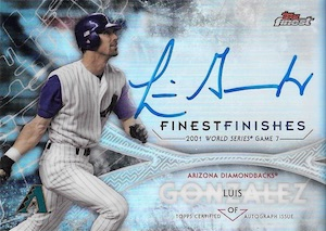 2017 Topps Finest Baseball Cards 35
