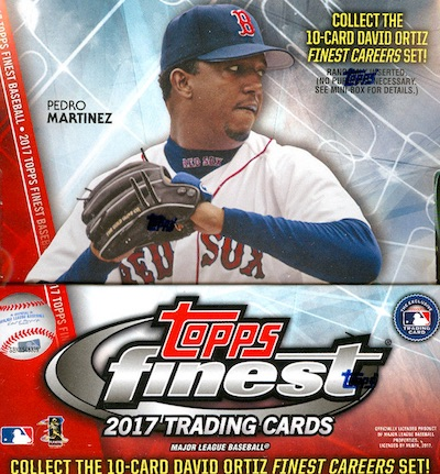 2017 Topps Finest Baseball Cards 34