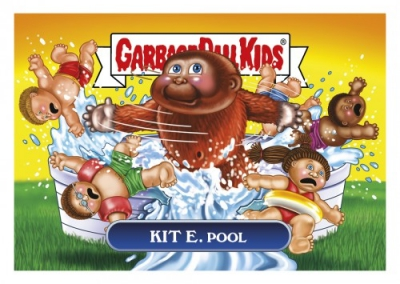 2017 Topps Garbage Pail Kids Network Spews Trading Cards - Updated 109