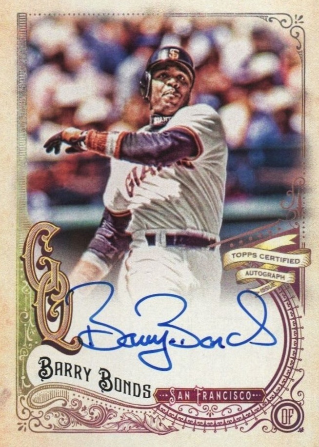 Top 10 Barry Bonds Baseball Cards 5