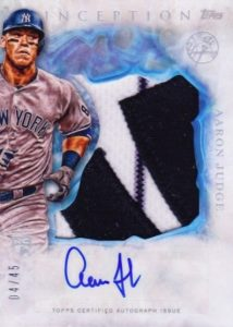 Aaron Judge Rookie Cards Checklist and Key Prospects 67