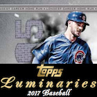 2017 Topps Luminaries Baseball Cards