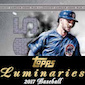 2017 Topps Luminaries Baseball