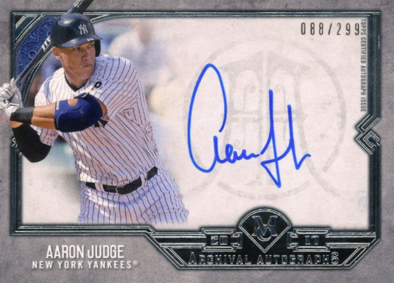 Aaron Judge Rookie Cards Checklist and Key Prospects 71
