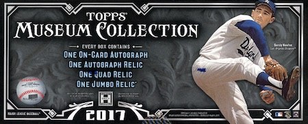 2017 Topps Museum Collection Baseball