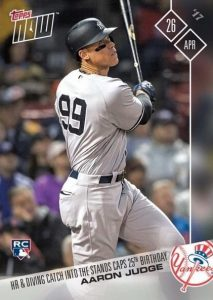 Aaron Judge Rookie Cards Checklist and Key Prospects 82