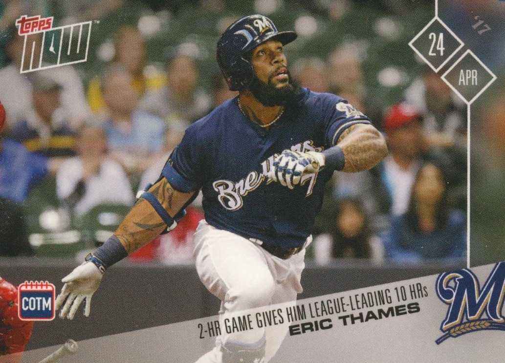 2017 Topps Now Baseball Loyalty Program Cards - Card of the Month Gallery 23