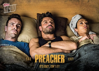 2017 Topps Now Preacher Season 2 Trading Cards 13