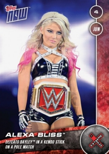 2017 Topps Now WWE Trading Cards 30
