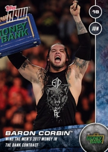 2017 Topps Now WWE Trading Cards 31