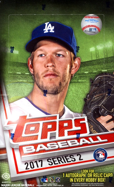 2017 Topps Series 2 Baseball Cards 50