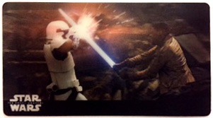 2017 Topps Star Wars The Force Awakens 3D Widevision