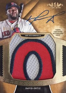 2017 Topps Tier One Baseball