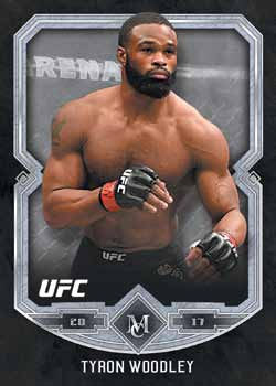 2017 Topps UFC Museum Collection MMA Cards 3