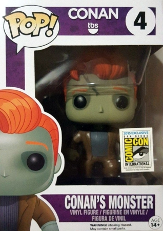 Ultimate Funko Pop Conan O'Brien Figures Checklist and Gallery 6