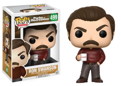 Funko Pop Parks and Recreation Vinyl Figures 4