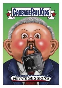 2017 opps Garbage Pail Kids Trumpocracy