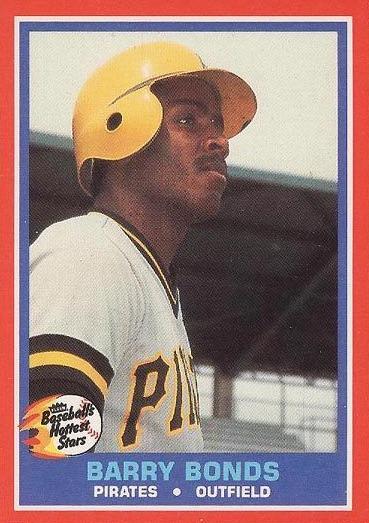 Top 10 Barry Bonds Baseball Cards 1