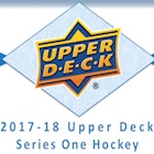 2017-18 Upper Deck Series 1 Hockey Cards
