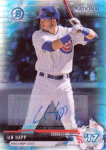 2017 Bowman Chrome National Convention Baseball