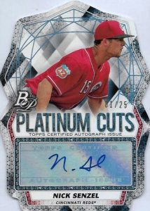 2017 Bowman Platinum Baseball Cards 27