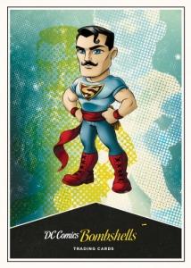 DC Comics Bombshells Copper Deco Lil Bombshells Chase Card L09 Hawkgirl