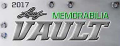 2017 Leaf Memorabilia Vault 1