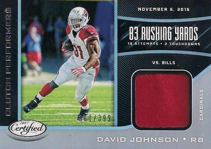 2017 Panini Certified Football Cards 27
