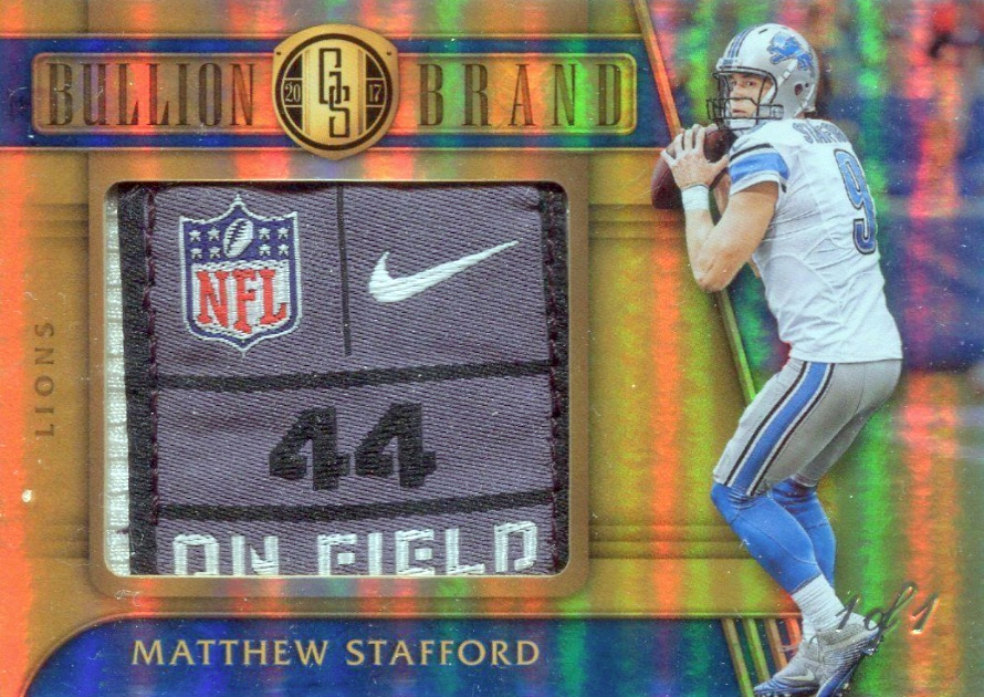 2017 Panini Gold Standard Football Cards 24
