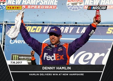 2017 Panini Instant NASCAR Racing Cards 13
