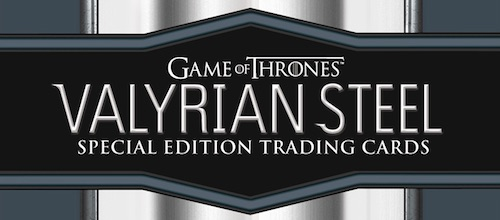 2017 Rittenhouse Game of Thrones Valyrian Steel Trading Cards 3