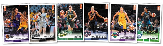 2017 Rittenhouse WNBA Basketball Cards 3