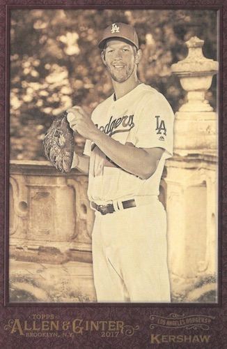 2017 Topps Allen & Ginter Baseball Cards 45