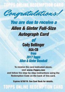 Top Cody Bellinger Rookie Cards and Key Prospect Cards 16