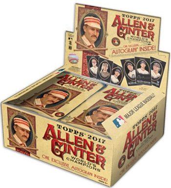 2017 Topps Allen & Ginter X Baseball Cards 1