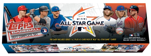 2017 Topps Baseball Complete Set Checklist Boxes Set Info Exclusives
