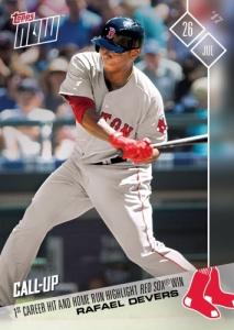 2017 Topps Now Baseball Cards 51