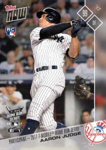 2017 Topps Now Baseball Cards 130