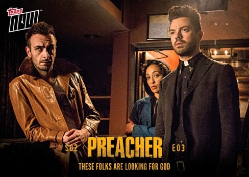 2017 Topps Now Preacher Season 2 Trading Cards 15
