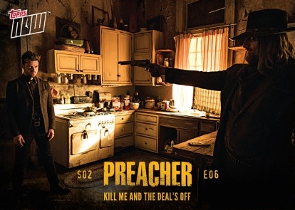 2017 Topps Now Preacher Season 2 Trading Cards 18